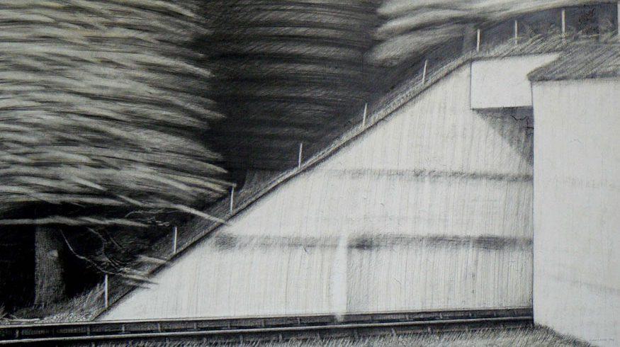 drawing by Robert Knee