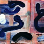 abstract painting by George Blacklock