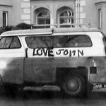 photo of John Gingells van in 1970s