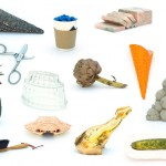 Image of sculpted food by Becky Whitmore and Lucy Tomlins