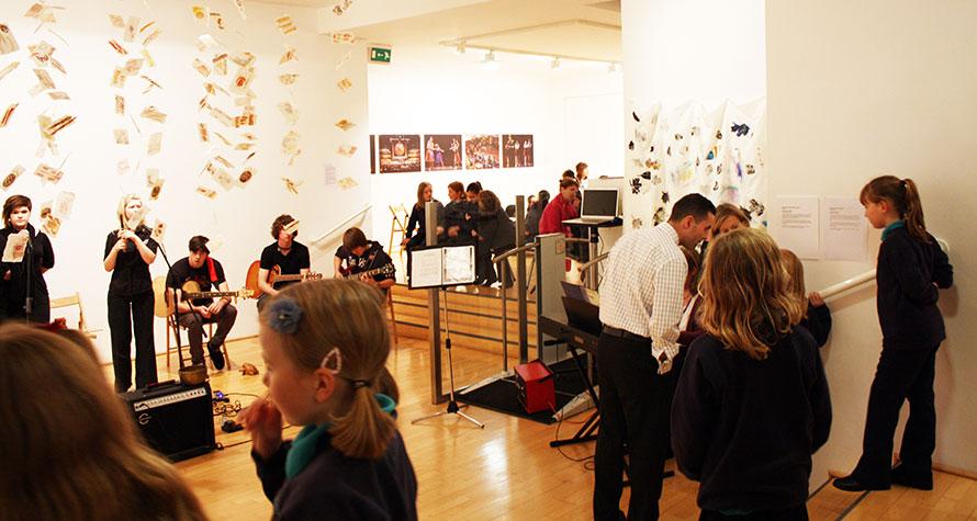 Bayart gallery in Cardiff